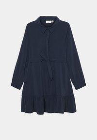 Name it - NKFVINAYA DRESS - Shirt dress - dark sapphire - 0