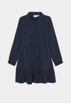 NKFVINAYA DRESS - Shirt dress - dark sapphire