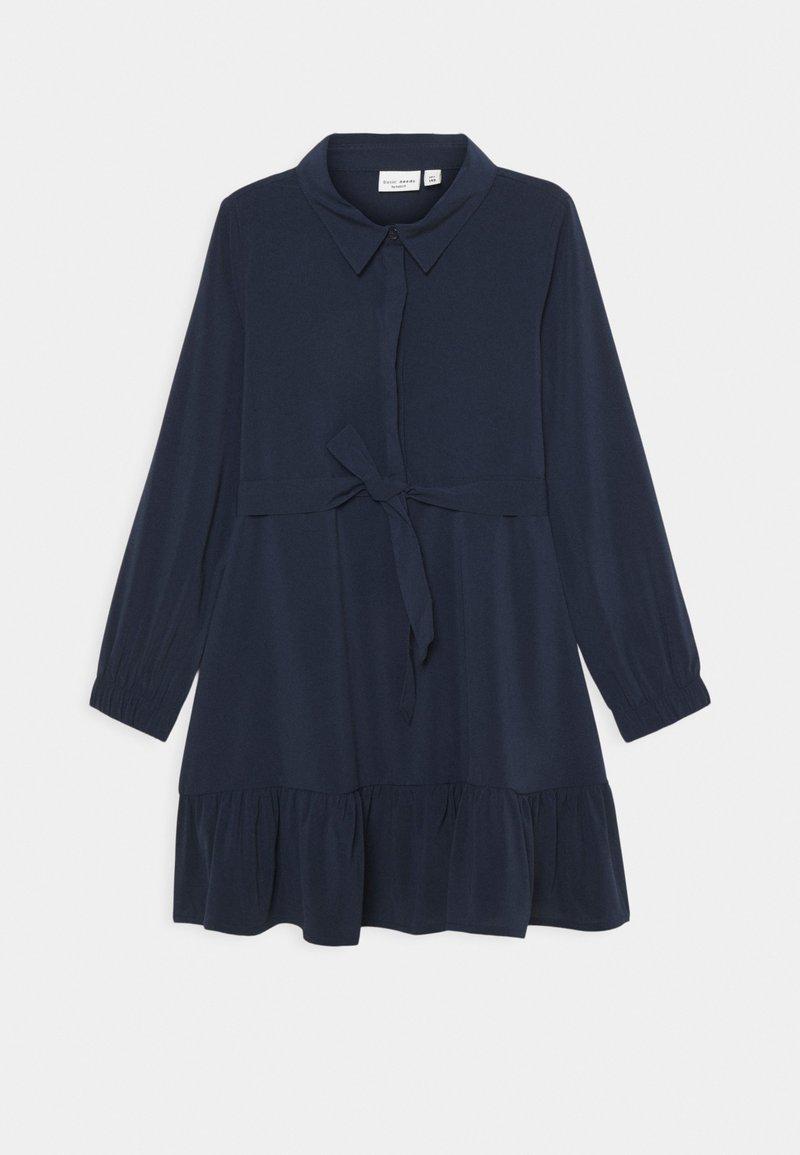 Name it - NKFVINAYA DRESS - Shirt dress - dark sapphire