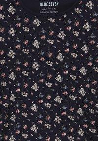 Blue Seven - KIDS FLORAL PRINT - Jersey dress - nachtblau - 3