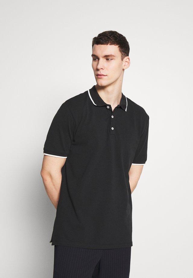 STEFAN - Koszulka polo - black