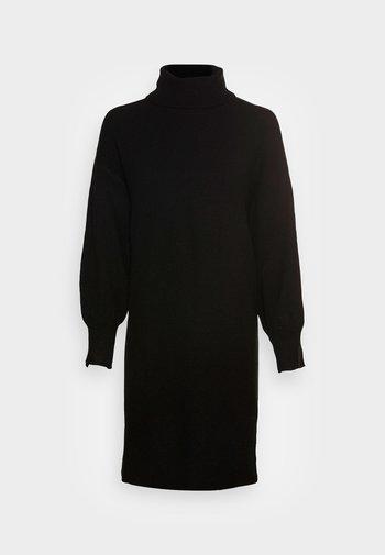PCFABIA HIGH NECK  - Jumper dress - black