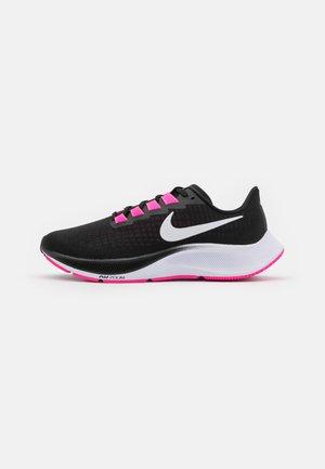AIR ZOOM PEGASUS 37 - Neutral running shoes - black/white/pink blast