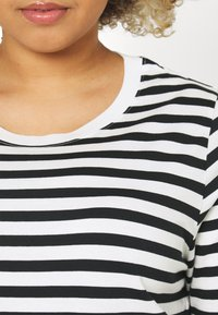 Selected Femme Curve - SLFANDARD - Long sleeved top - black - 5