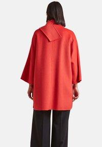 Elena Mirò - Classic coat - rosso - 2