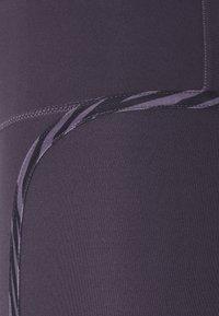 Nike Performance - ONE LUX - Legging - dark raisin/black/clear - 6