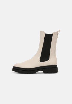 Støvler - ivory/black