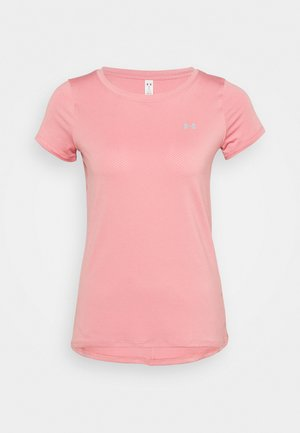 Basic T-shirt - pink/silver-coloured