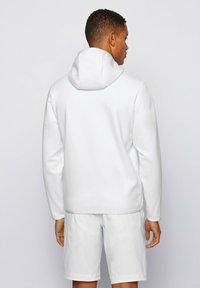 BOSS - Zip-up hoodie - white - 2