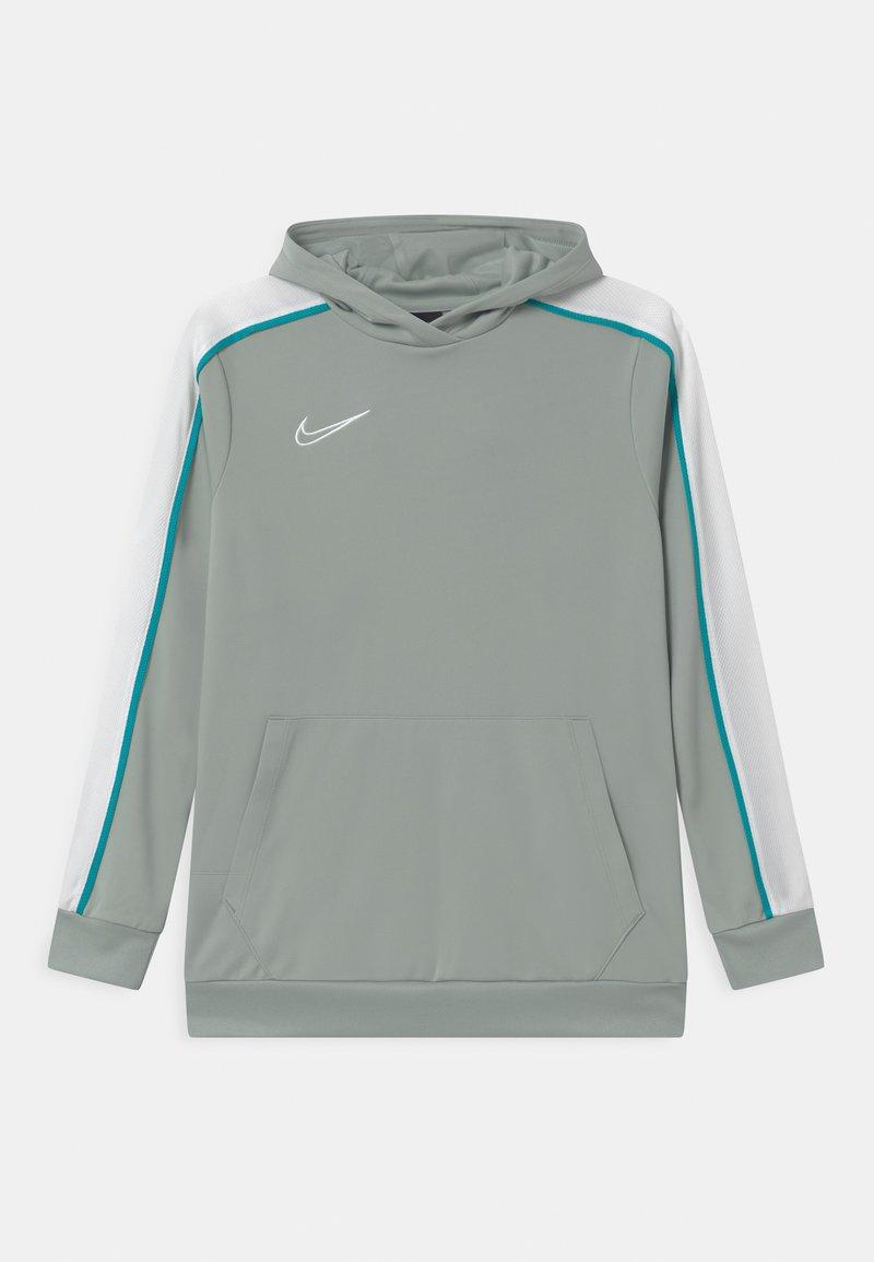 Nike Performance - HOODIE UNISEX - Sports shirt - light pumice/white