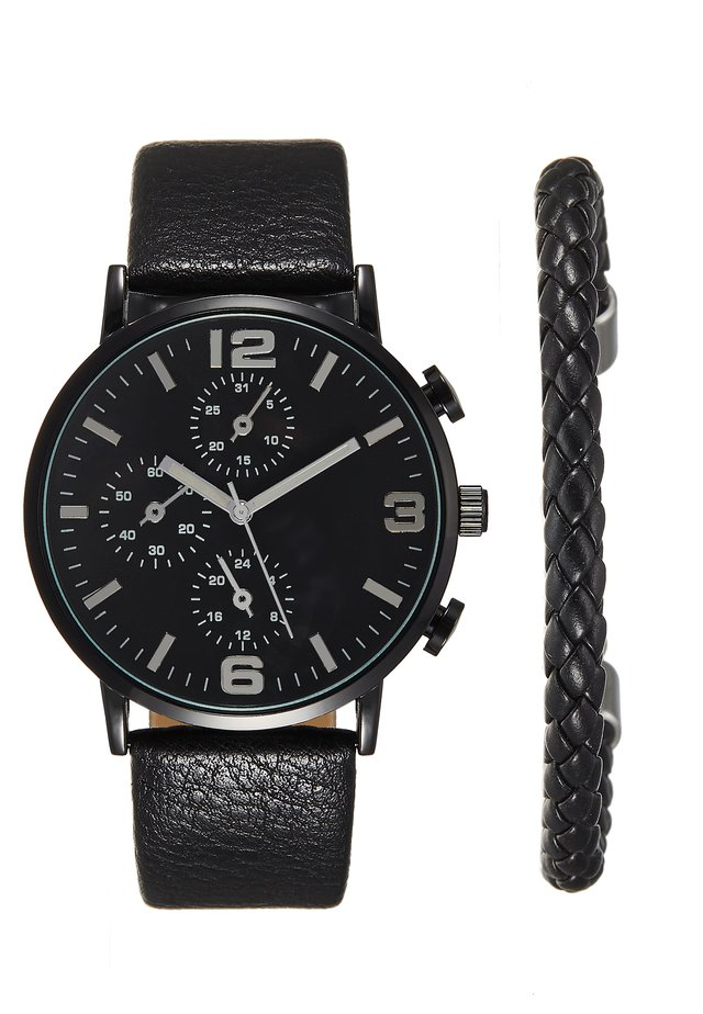 SET - Horloge - black