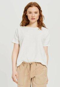 Opus - Print T-shirt - offwhite - 0