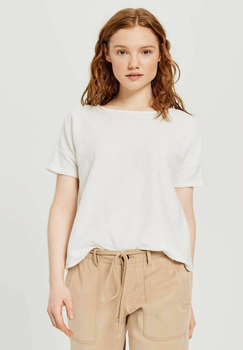 Opus - Print T-shirt - offwhite