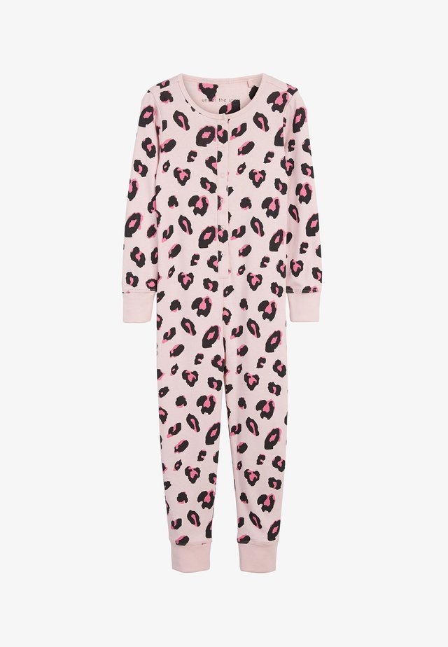 ALL-IN-ONE WITH POPPERS - Pyjamas - pink