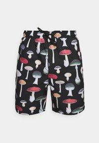 Primitive - ASHBURY BOARDSHORT - Shorts - black - 4