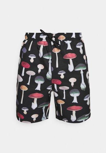 ASHBURY BOARDSHORT - Shorts - black