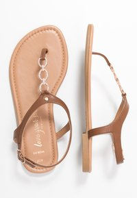 New Look Wide Fit - WIDE FIT HOXTON - Flip Flops - tan - 3