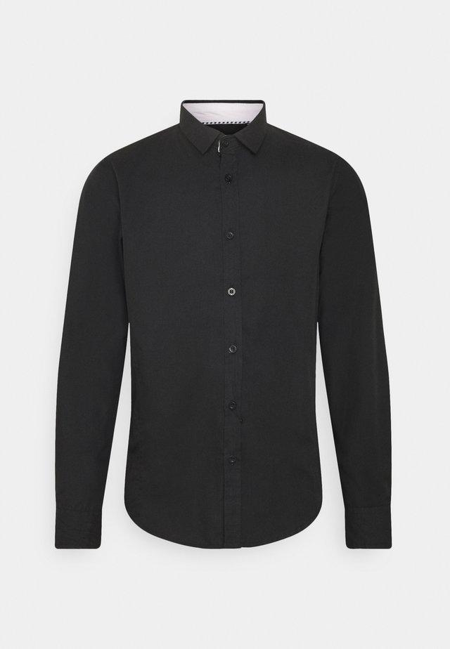 TUDORD - Koszula biznesowa - black