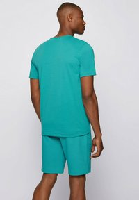 """BOSS - """"TEE CURVED"""" - Basic T-shirt - turquoise - 2"""