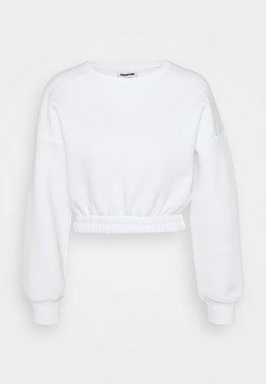 NMPERCY - Sweatshirt - bright white