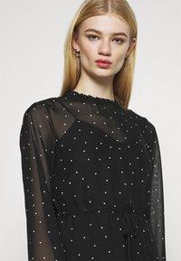 ONLY - ONLTRACY MIDI DRESS  - Denní šaty - black - 4