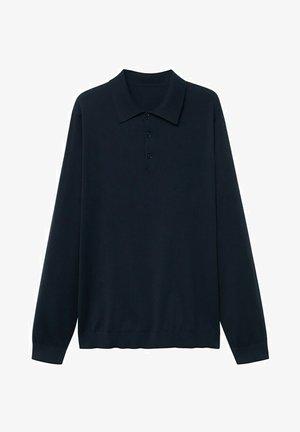 Polo shirt - marineblauw