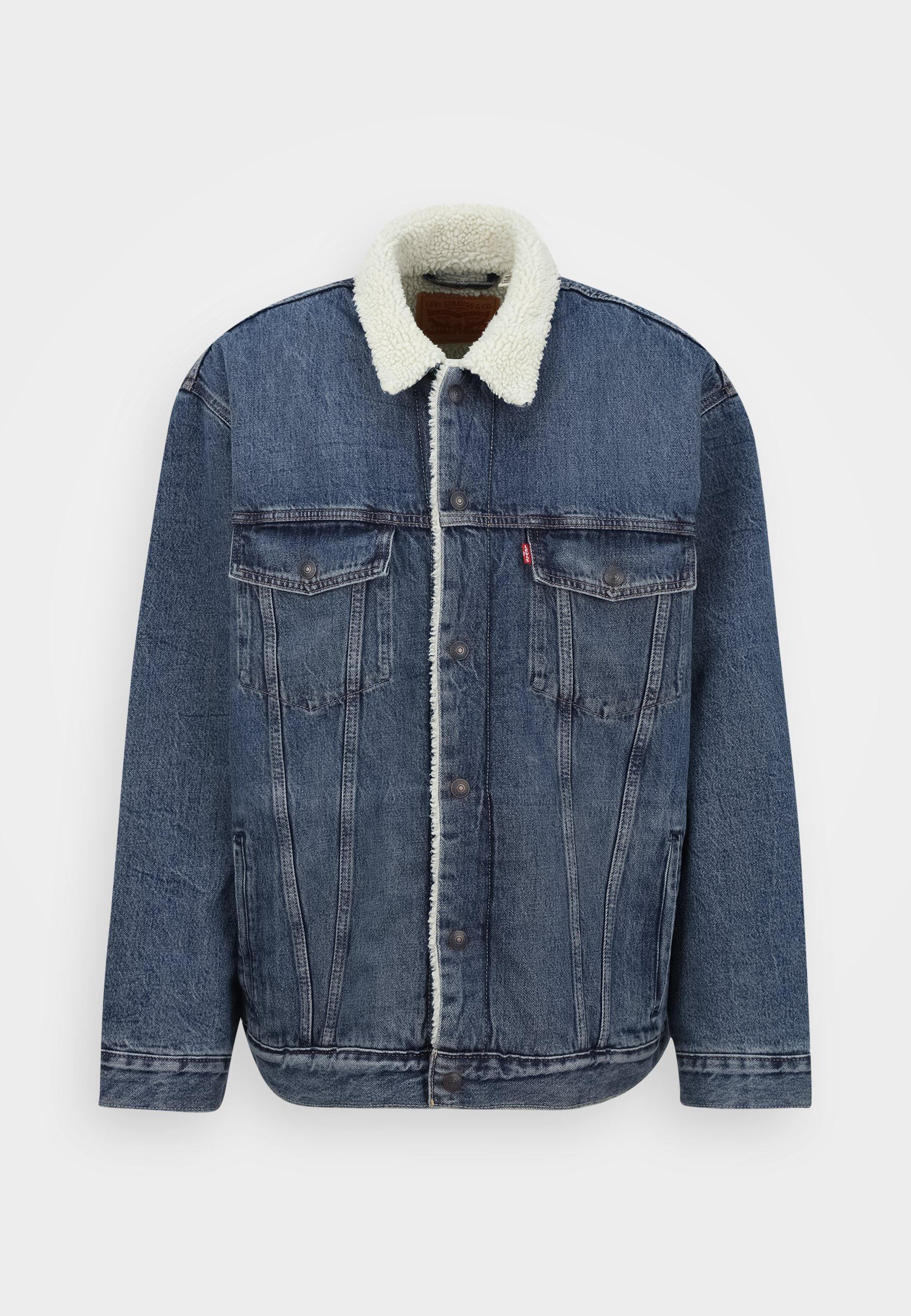 Uomo BIG SHERPA TRUCKER - Giacca di jeans