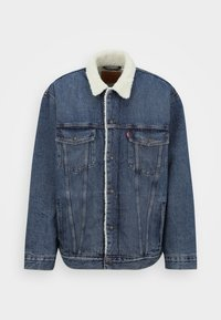 Levi's® Plus - BIG SHERPA TRUCKER - Denim jacket - television - 0
