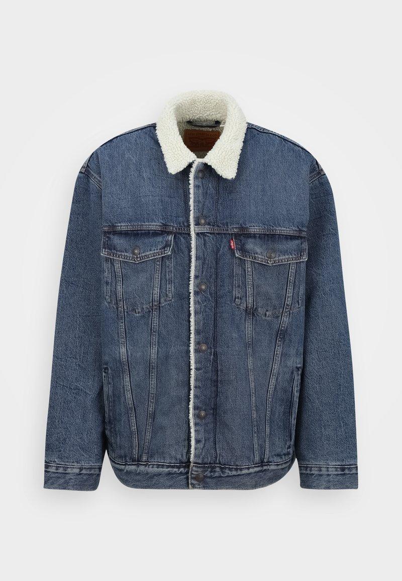 Levi's® Plus - BIG SHERPA TRUCKER - Denim jacket - television