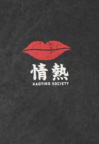 Kaotiko - LIPS  - T-shirt print - dark grey - 2