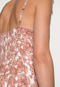 Abercrombie & Fitch - RESORT BUTTON DRESS - Maxi dress - pink - 4