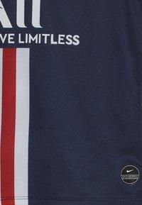 Nike Performance - PARIS ST GERMAIN HOME KIT - Club wear - midnight navy/white - 3