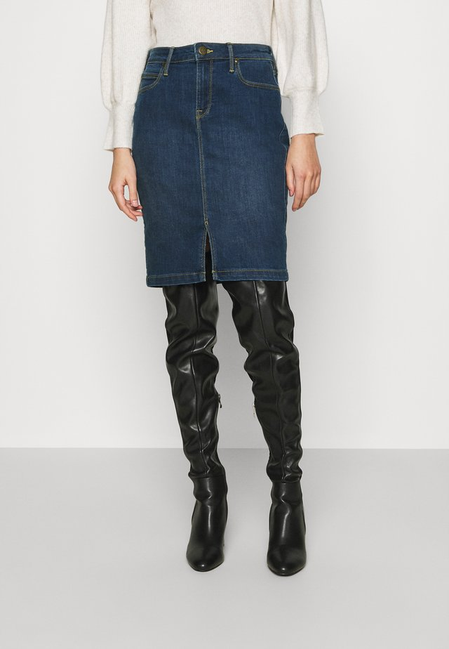 PENCIL SKIRT - Jupe en jean - dark len