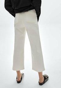 Massimo Dutti - Flared Jeans - white - 1