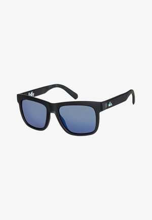 BALKY  - Sunglasses - matte crystal smoke/flash blue