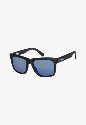 BALKY  - Sunglasses - matte crystal smoke/flash blue