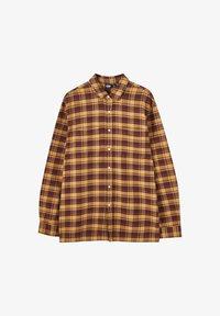 PULL&BEAR - Skjorta - mottled brown - 4