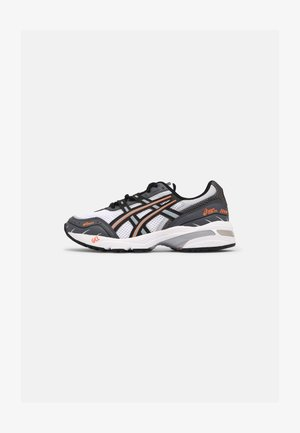 GEL 1090 UNISEX - Trainers - white/black/orange