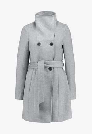 Manteau court - light grey melange