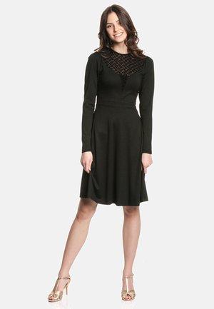 A-LINIEN SMART PRINCESS - Day dress - schwarz