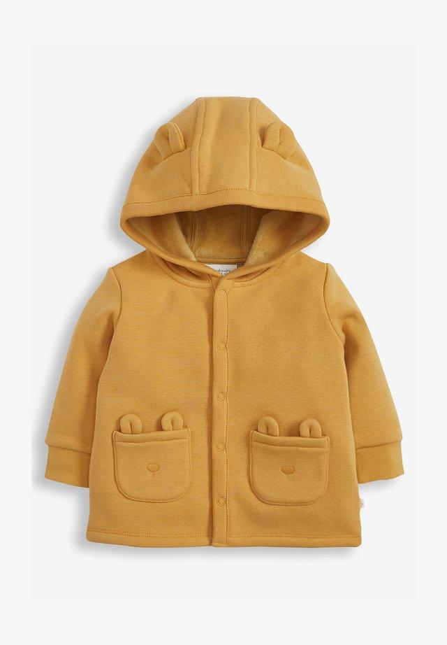 Fleece jacket - yellow