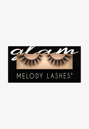 GLAM CLEO - False eyelashes - black