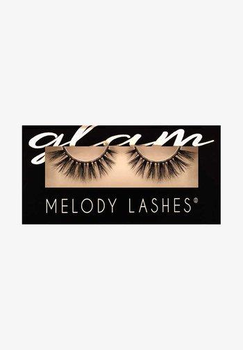 GLAM CLEO - False eyelashes - black
