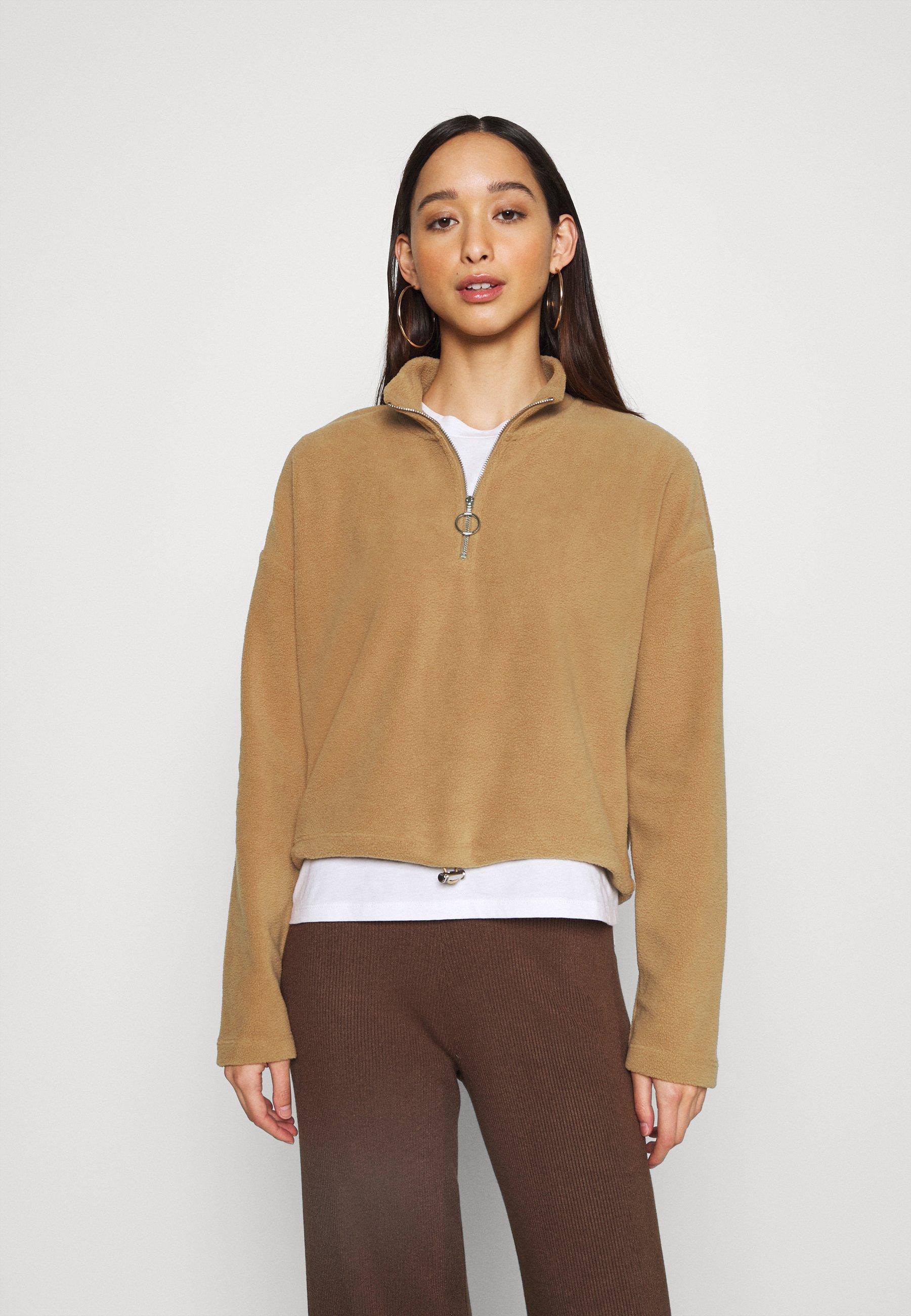 Women NMMISSER CROPPED NEW - Fleece jumper