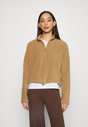 NMMISSER CROPPED NEW - Fleecepullover - tigers eye