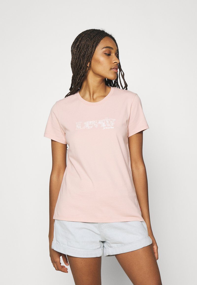 Levi's® - THE PERFECT TEE - T-shirt con stampa - sand