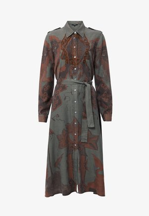 GUARDIANS - Robe chemise - green