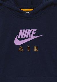Nike Sportswear - AIR CROP HOODIE - Hoodie - obsidian/university gold/violet star - 2