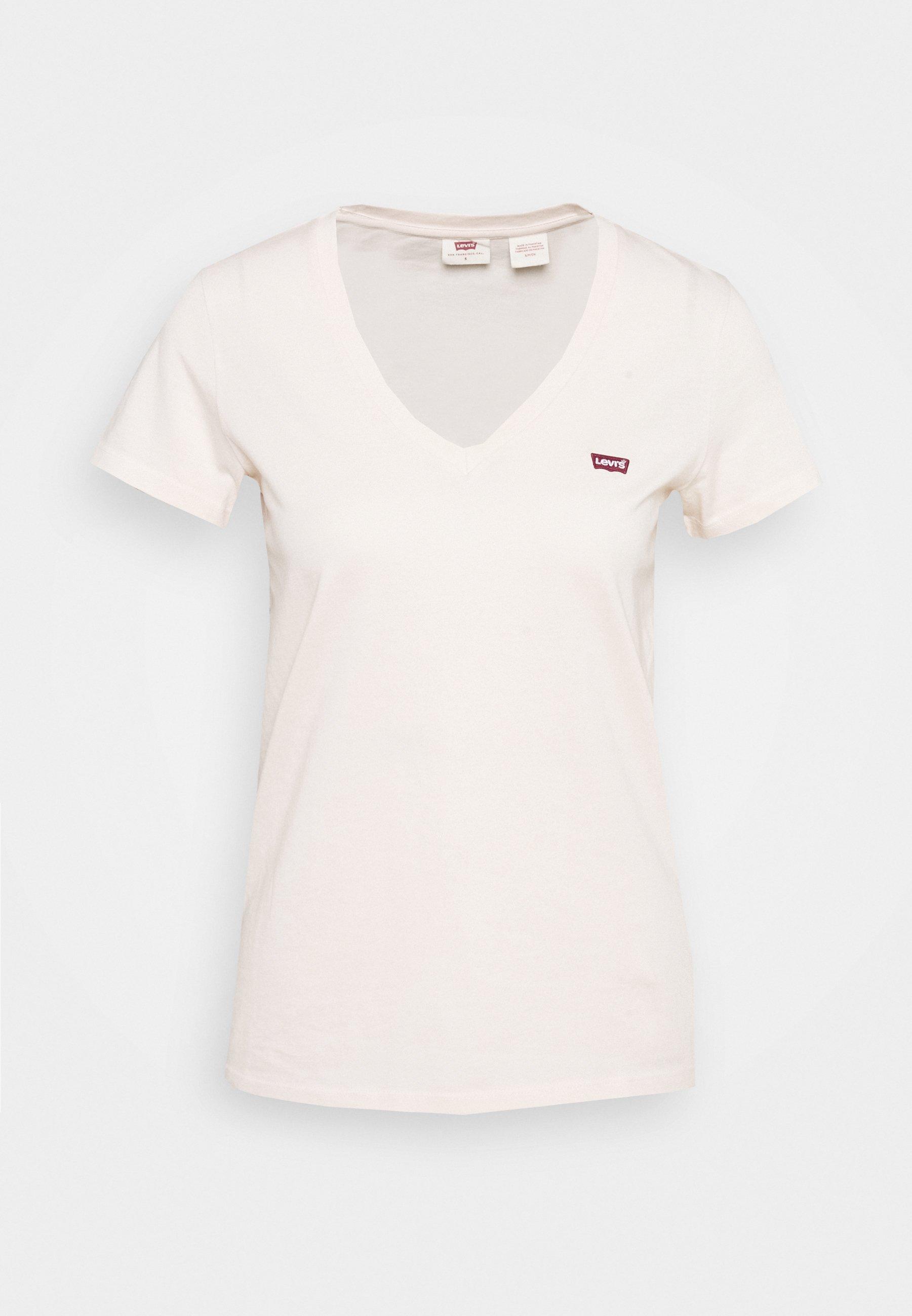 Donna PERFECT V NECK - T-shirt basic