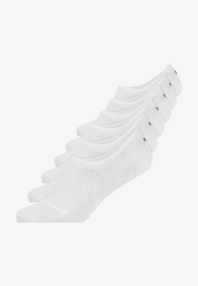 INVISIBLE SNEAKER - Trainer socks - weiß